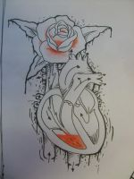 rose heart by SimplyTattoo