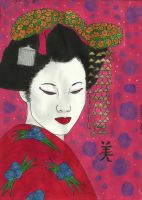 Beautiful Geisha by Mischievous-Princess