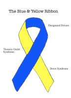 The Blue And Yellow Ribbon by ryu-ren