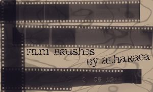 Film Brushes by Alharaca