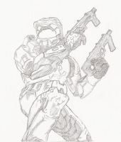 Master Chief Halo by GG-lover