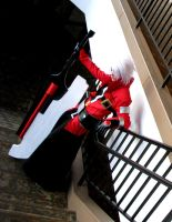 Cosplay: Ragna the BLOODEDGE by burloire
