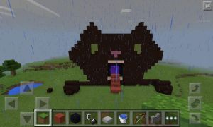 Fun with minecraft nether portals by OwlEyesSyndrome