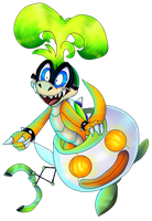SSB4 Collab - Iggy by PlagueDogs123