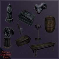 Gothic Dungeon Set Img4 by Zagreb-Dubrava