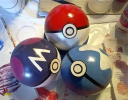 Pokeballs by CrimsonVip3r