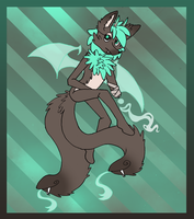 Mint Chocolate Monster Adopt (Bought) by LadyUnorthodox