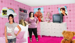 Katie And Sadie's room by cococheese