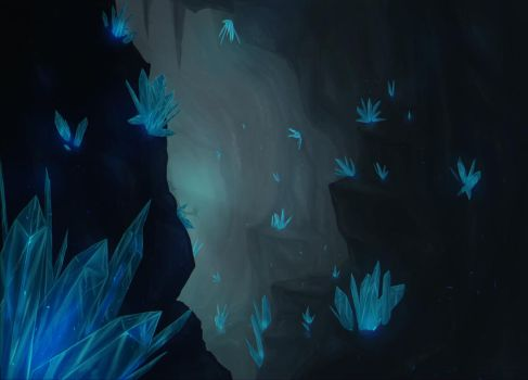 Crystal Cave by Suichah