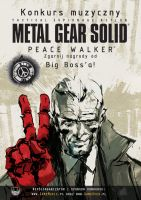 MGS: Peace Walker Poster 01 by B4H