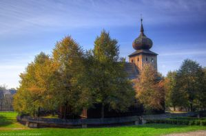 Church from Ryczow by topperGfx