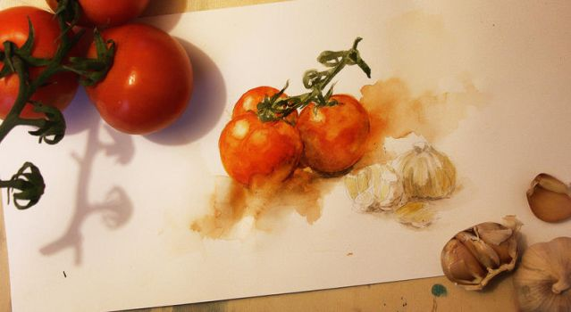 Tomatoes by Michelle-Winer