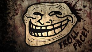 TrollFace Wallpaper by JulioTheChange