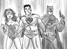 The DC Trinity by tarunbanned