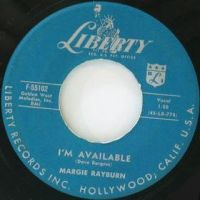 Margie Rayburn 'I'm Available' 1957 hit by slr1238