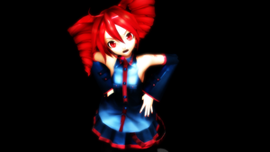 Demon Girlfriend Teto Kasane by knuxfan23