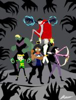 UPA Young Avengers by FreakDeStrange