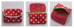 polka dot purse by FrostedMayhem