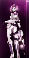 Portal 2 OC: Violet or Becca by mats-smith