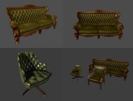bank furniture - retro by mikemars