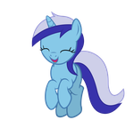 [Pose Request] Minuette Happy Jumping by retropony28