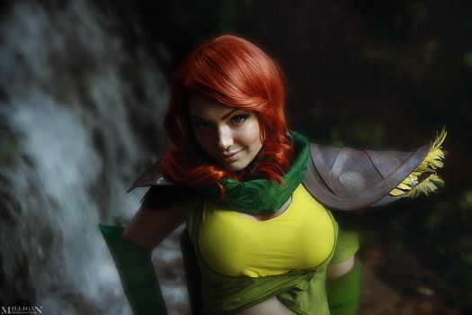 DotA 2 - WR - Near the waterfall by MilliganVick
