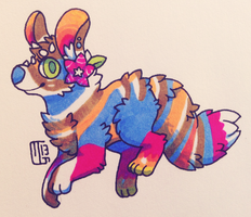 Creature Chib Commish - in3mo by Kaweki