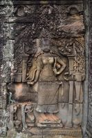 Angkor Relief by drewhoshkiw