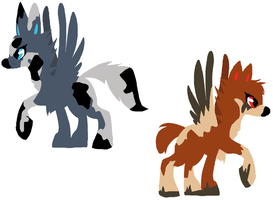 SPECIES adoptables: 1 CLOSED by Buttzazzle