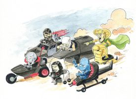 Cobra Wacky Races by littlereddog