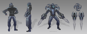 Biker Zed Concept [UPDATED] by argaelie