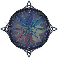 celtic compass by northdrow