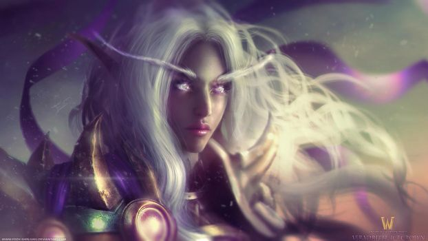World of Warcraft: Aeradrith Portrait by Eddy-Shinjuku