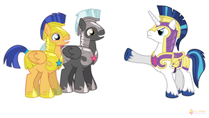 Schooled by Shining Armor by flashlighthouse