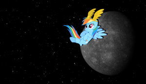 Rainbow Dash Mercury Wallpaper by Mach-Volt