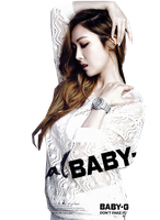 Snsd Jessica baby G REQUEST render by RandyElitz