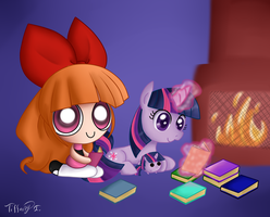 PPG and MLP - READ A BOOK by iTiffanyBlue
