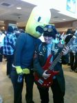 Murdoc and Lemongrab by EyonSplicer
