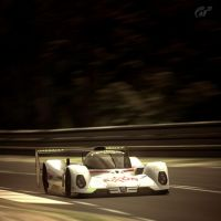 Peugeot 905 down the straight by MercilessOne