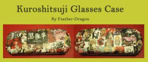 Kuroshitsuji Glasses Case by Feather-Dragon