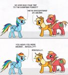 Pony rape joke by RebelOfGod