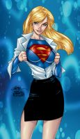 supergirl by j.scott campbell by tony058