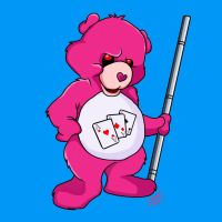 Gambit Care Bear by amydrewthat