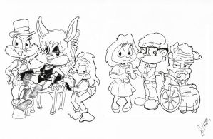 TTA Parody Bunny Picture Show by Atariboy2600