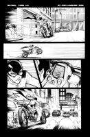 Batgirl sample page 3 by JoeyVazquez