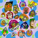 Assorted Mixed Muppets by mightyfilm
