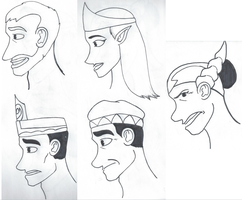 Dragon Council Face Studies? by Powalski13