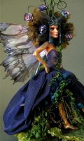 TITANIA - FOREST FAERIE QUEEN 1 by wingdthing