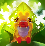 Leaf Baby by Umbrielle
