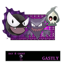 Day 8 Gastly by Jacklave